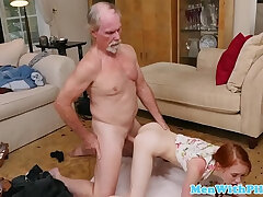 cock-doggy-old man-petite
