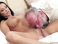 busty girls-girl-old and young