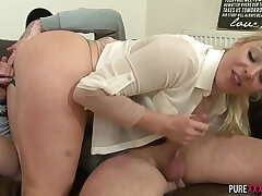brother-busty girls-girl-sister