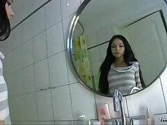 bathroom-beautiful-teen-teenager