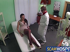 bald pussy-doctor-licking-perverts