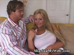 babe-big tits-sharing-tits