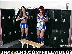 anal-ass fingering-brunette-cheerleader