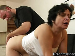 cock-hairy-old and young