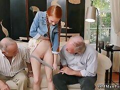 blowjob-daddy-pregnant-redhead